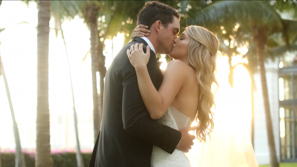 Jillian + Keegan Bradley | Palm Beach Wedding Videography