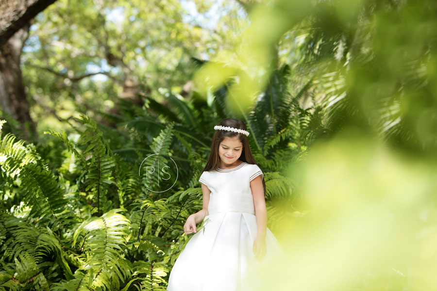 Miami Communion Photographer | Vizcaya Communion